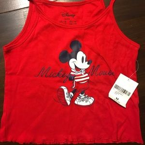 NWT Forever 21 Mickey Mouse Tank Top